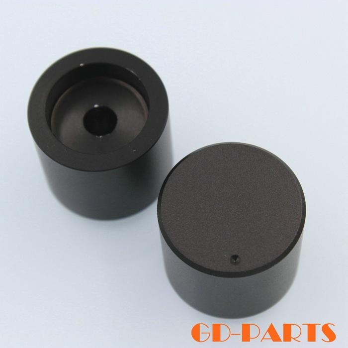 1PC 25*22mm Aluminum Tube Amplifier DAC CD Turntable Radio Volume Control knob